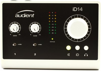 AUDIENT ID12 INTERFACCIA AUDIO 10 IN 4 OUT USB 2.0 CON 2 PREAMPLIFICATORI