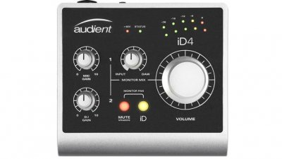 AUDIENT ID4 SCHEDA AUDIO 2 IN 2 OUT