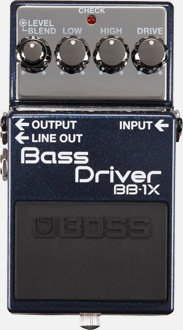 BOSS BB1X BASS DRIVER PEDALE EFFETTO
