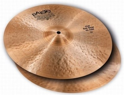 PAISTE PIATTO 2002 BLACK BIG BEAT HI HAT 15