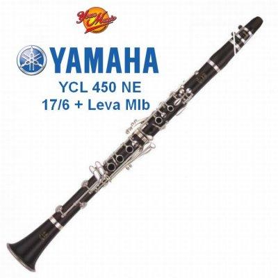 YAMAHA YCL450NE CLARINETTO SIb 17/6 + LEVA