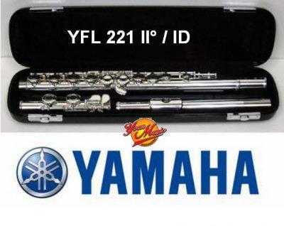YAMAHA YFL221 FLAUTO TRAVERSO