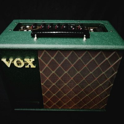 VOX VT20X VALVETRONIX LTD BRITISH GREEN
