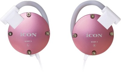 ICON SCAN3 PINK CUFFIA