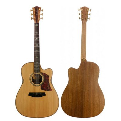 COLE CLARK FAT LADY 3 DREADNOUGHT CUTAWAY ELETTRIFICATA