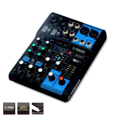 Yamaha Mg06X Mixer Analogico 6 Canali Con Effetti