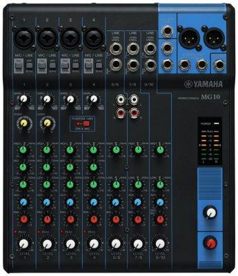 Yamaha Mg10 Mixer 10 Canali Senza Effetti