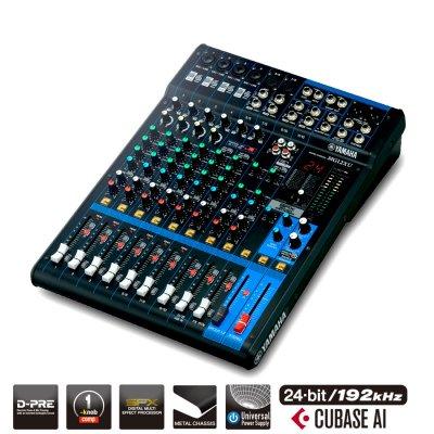 Yamaha Mg12Xu Mixer Analogico 12 Canali Con Effetti E Usb