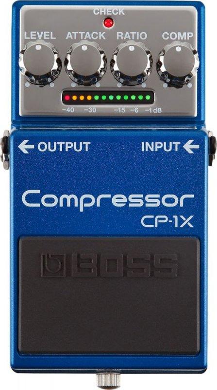 BOSS CP1X COMPRESSOR PEDALE EFFETTO