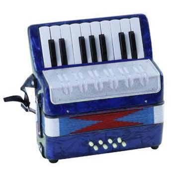 SOUNDSATION  MINI FISARMONICA ST178B BLU
