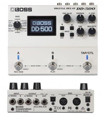BOSS DD500 DIGITAL DELAY  PEDALE EFFETTO