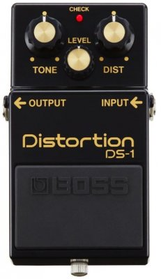 BOSS DS1 DISTORTION 40TH ANNIVERARY PEDALE EFFETTO