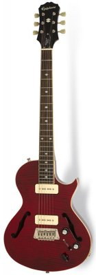 EPIPHONE BLUESHAWK DELUXE WINE RED