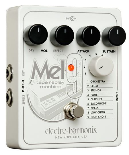 ELECTRO HARMONIX MEL9 TAPE REPLAY MACHINE PEDALE EFFETTO