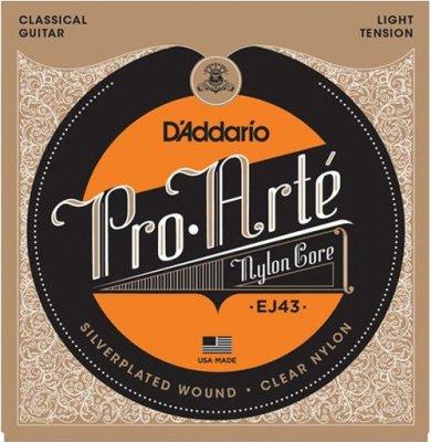 D'Addario Ej43 Pro Arte Lite