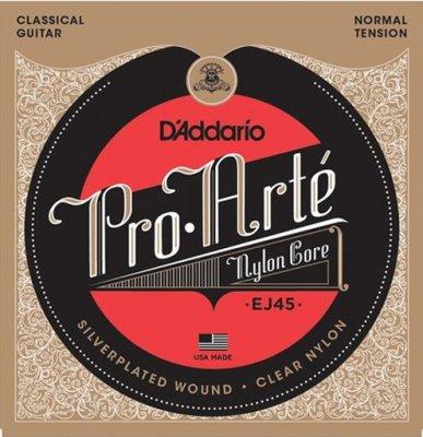 D'Addario Ej45 Pro-Arte Corde Nylon Normal Tension Per Chitarra Classica