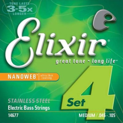 ELIXIR MUTA BASSO 14677 LIGHT MEDIUM 45-105
