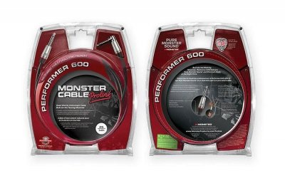 MONSTER CABLE PROLINK PERFORMER P600 CAVO 3,6 MT