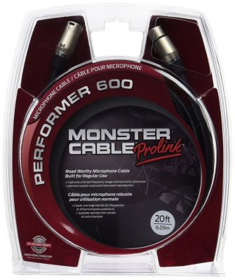 MONSTER CABLE PERFORMER P600 CAVO 6MT GOLD