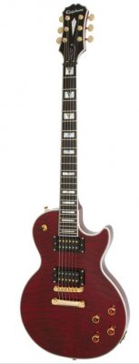 EPIPHONE PROPHECY LES PAUL CUSTOM PLUS GX BLACK CHERRY