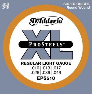 D'Addario Eps 510  Muta Regular Light 010-46