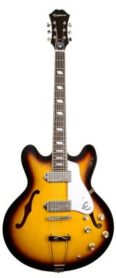 EPIPHONE CASINO VINTAGE SUNBURST CHROME