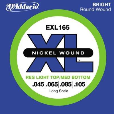 D'Addario Exl165 St/Rb Muta X 045-105