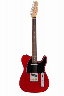 FENDER TELECASTER AMERICAN PROFESSIONAL CRIMSON RED TRANSPARENT