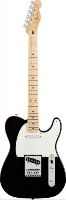 FENDER TELECASTER MEXICO STANDARD MAPLE NECK BLACK
