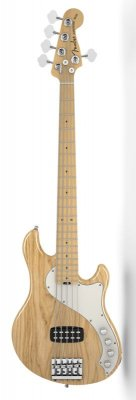 FENDER AMERICAN DELUXE DIMENSION BASS 5 CORDE NATURAL