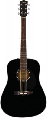 FENDER CD60S CHITARRA ACUSTICA BLACK
