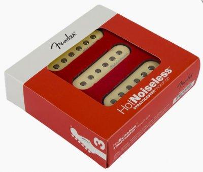 Fender Pickup Hot Stratocaster Noiseless Set