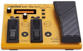 BOSS GP10S GUITAR PROCESSOR SEPARATE VERSION PEDALE EFFETTO