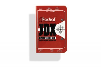 Radial JDX™ Reactor™ Guitar Amp Direct Box