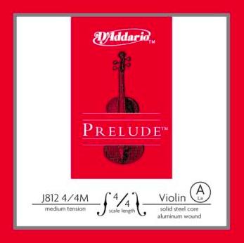 D'Addario Prelude Corda Violino A 4/4 M