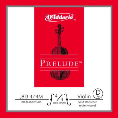 D'Addario Prelude Corda Violino D 4/4 M