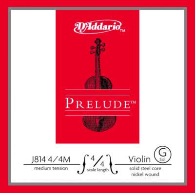 D'Addario Prelude Corda Violino G 4/4 M