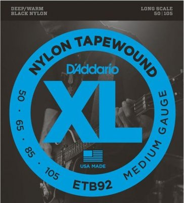 D'ADDARIO ETB92 TAPEWOUND MEDIUM 50-105 LONG SCALE