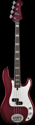 LAKLAND BASSO 4464 SKYLINE CUSTOM CANDY APPLE RED