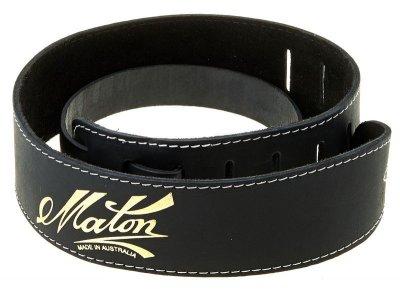 Maton Acoustic Guitar Strap Black