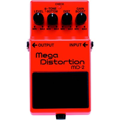 BOSS MD2 MEGA DISTORTION  PEDALE EFFETTO