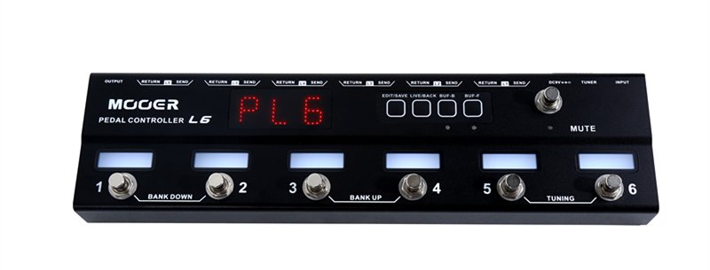 MOOER CONTROLLER L6  PEDALE EFFETTO