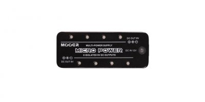 MOOER MICRO POWER SUPPLY  PEDALE EFFETTO