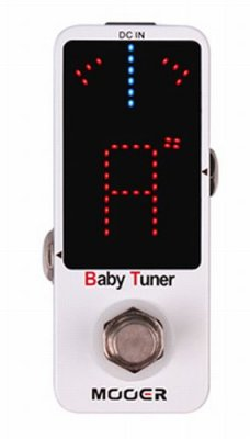 MOOER BABY TUNER PEDALE EFFETTO