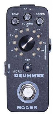MOOER MICRO DRUMMER PEDALE EFFETTO