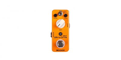 MOOER ULTRA DRIVE MKII DISTORTION PEDALE EFFETTO