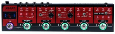 MOOER RED TRUCK PEDALE EFFETTO