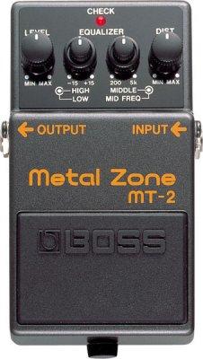 BOSS MT-2 PEDALE EFFETTO  METAL ZONE