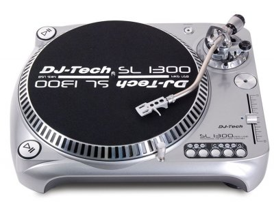 DJTECH SL1300 MK6 USB GIRADISCHI SILVER