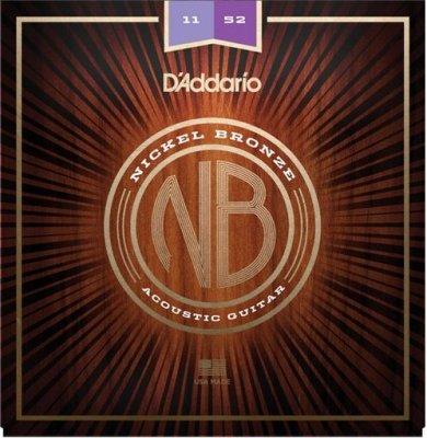 D'Addario Nb1152 Nickel Bronze Custom Light
